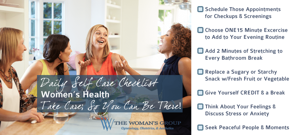 Self Care Daily Checklist Tampa